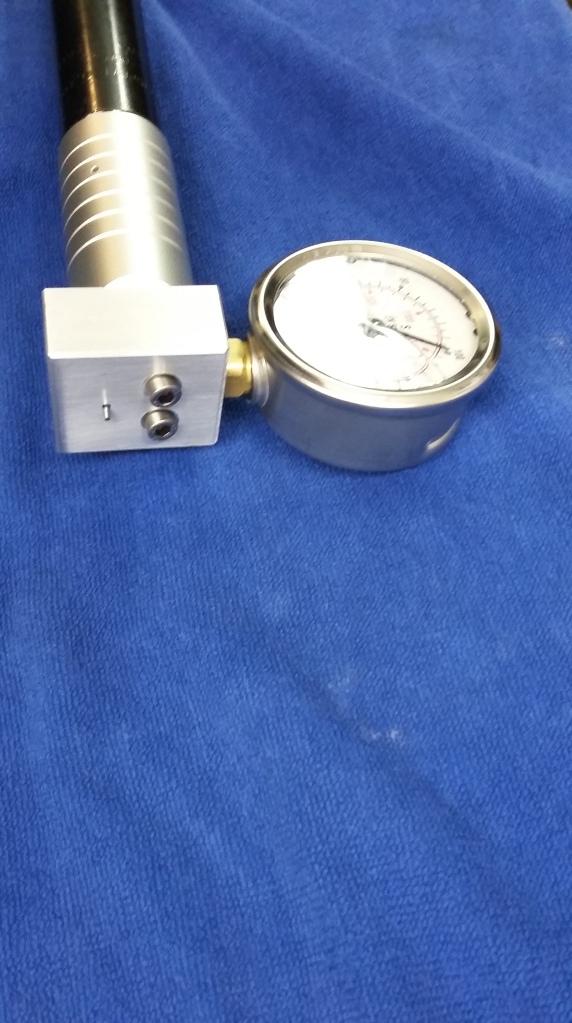 3. Reg tester Walther LG300; Valve side