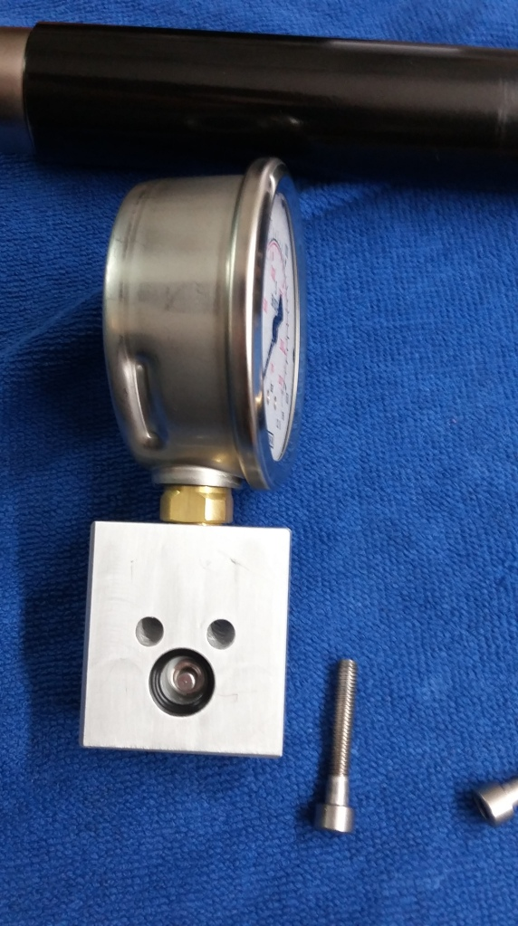 2. Reg tester Walther LG300; Regulator side