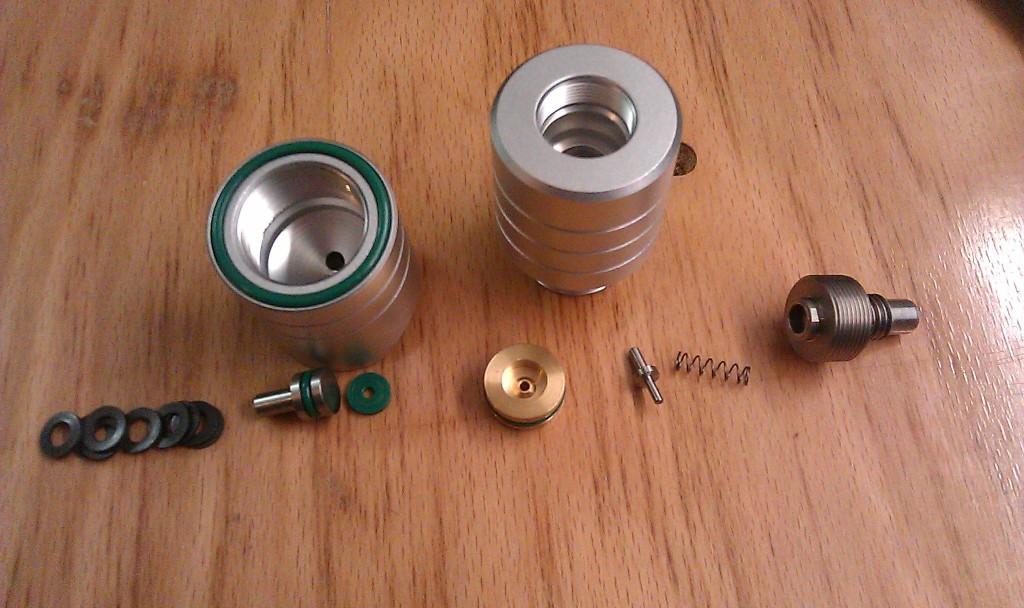 7,5J MK2 reg taken apart