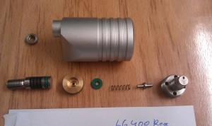 LG400 regulator internals