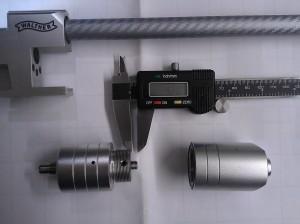 Walther 21 Joule regulator opened