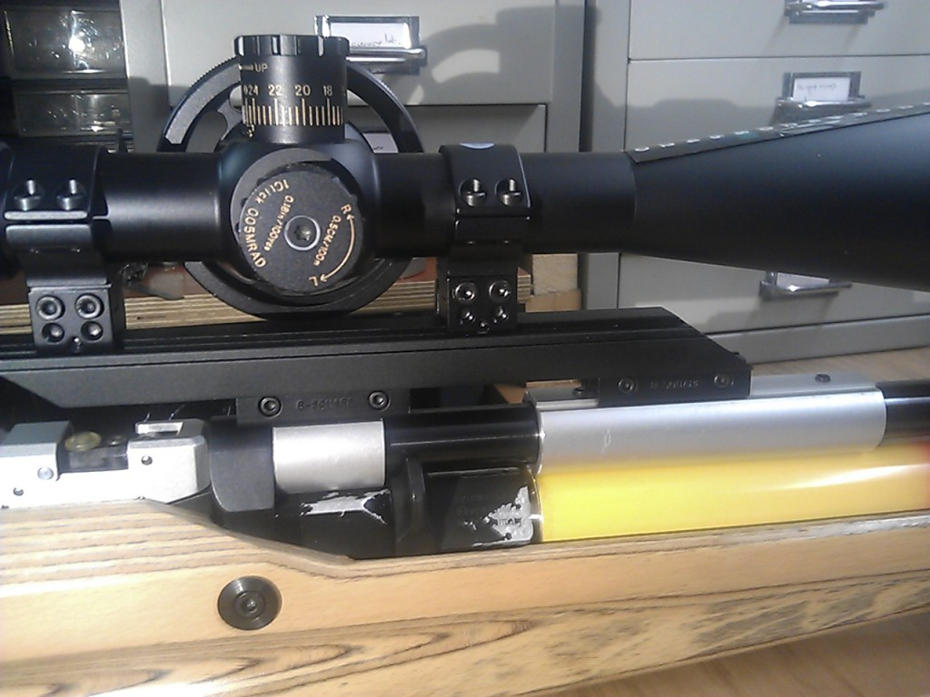 FWB P70 scope mounting