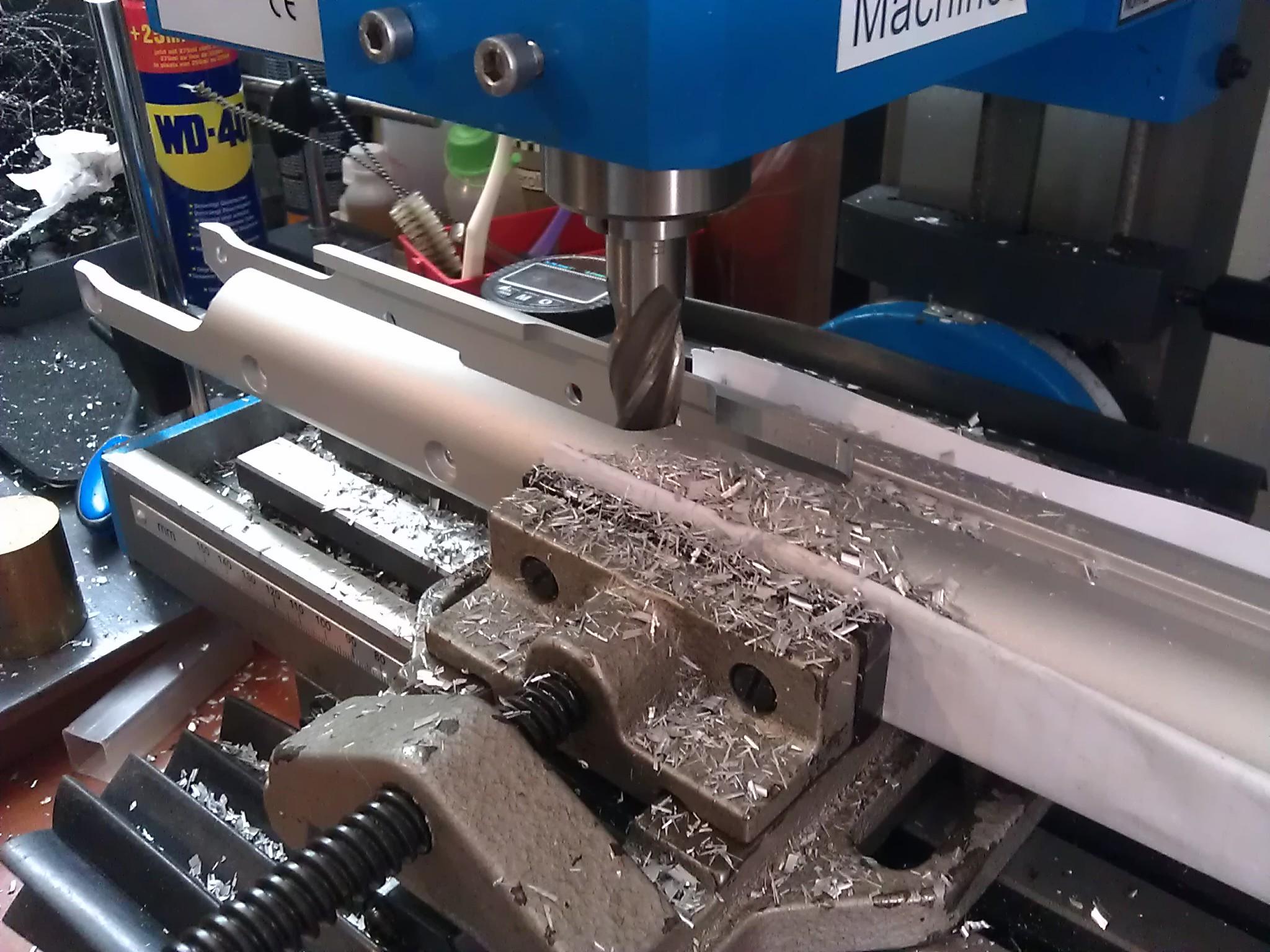Feinwerkbau P70 conversion to 16 Joule / 12 fpe for Field