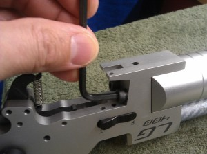 24. Alternately give quarter turns on both the bolts to fasten the regulator.