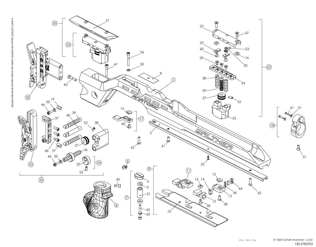 LG400 Anatomic Schaft